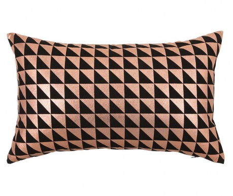 Prevleka za blazino Geometric Bronze 30x50 cm