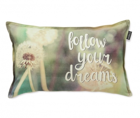 Prevleka za blazino Follow Your Dreams 30x50 cm