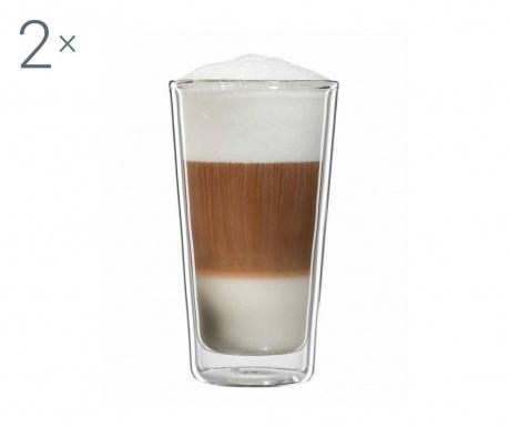 Milano Twin 2 db Latte macchiato  pohár 300 ml