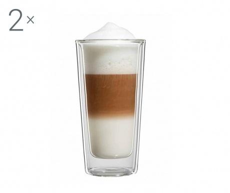 Milano Twin 2 db Latte macchiato  pohár 350 ml