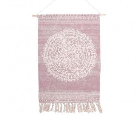 Nástěnná dekorace Mandala Light Pink