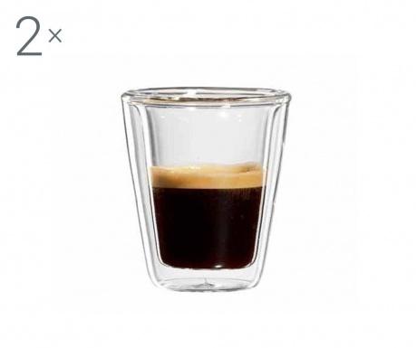 Milano Twin 2 db Eszpresszó pohár 80 ml