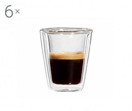 Milano 6 db Eszpresszó pohár 80 ml