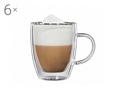 Verona 6 db Cappuccino csésze 150 ml