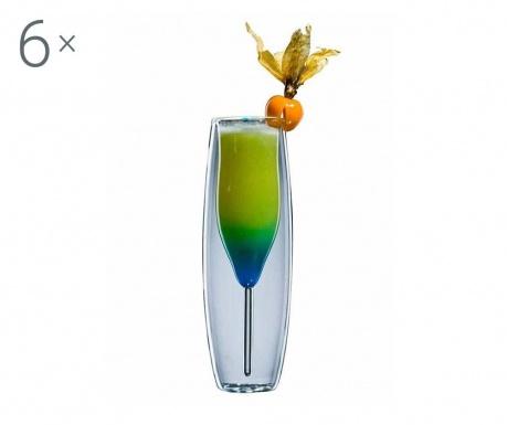 Bloo 6 db Koktélos pohár 120 ml
