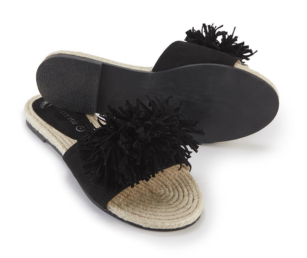 Ženski sandali Tassel Black 38
