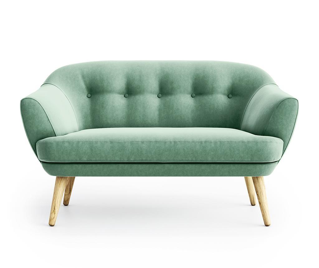 Kauč dvosjed Elsa Riviera Light Green