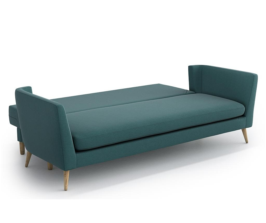 Canapea extensibila 3 locuri Jane Olaf Green