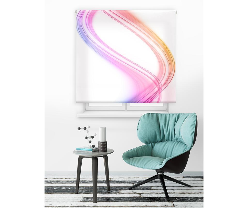 Spiral Vibes Pink Roletta 160x250 cm