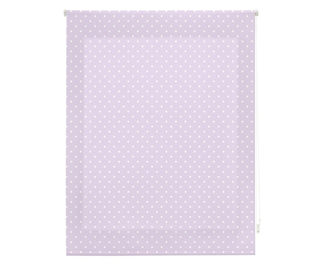 Dots Purple Roletta 140x180 cm
