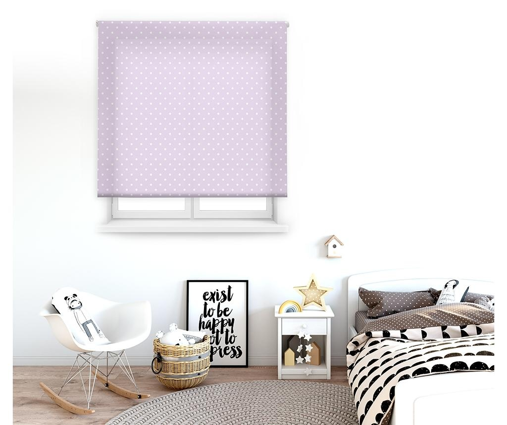 Dots Purple Roletta 110x180 cm