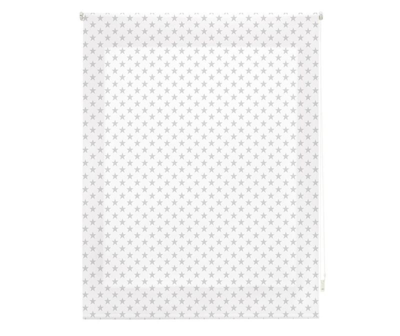 Stars Grey Roletta 110x180 cm