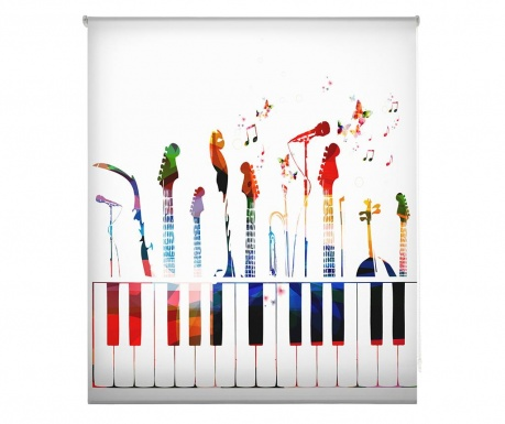 Rolo zavesa Music is Life 110x180 cm
