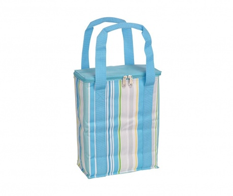 Hladilna torba Blue Stripes 6 L