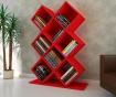 Knjižni regal Kumsal  Red