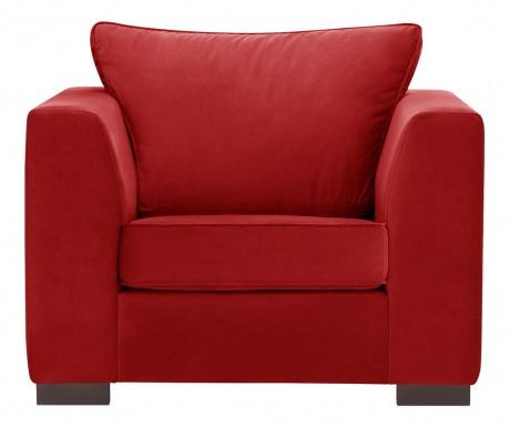 Křeslo Taffetas Glamour Red