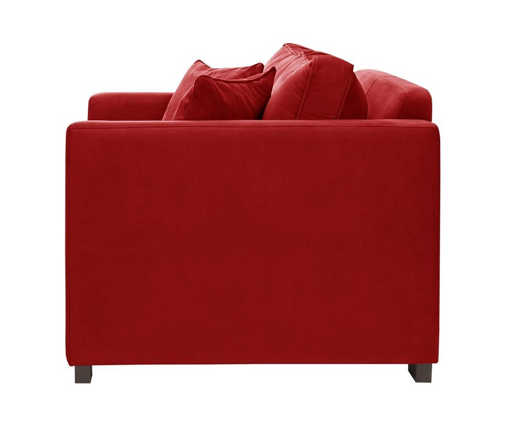 Canapea 2 locuri Taffetas Glamour Red