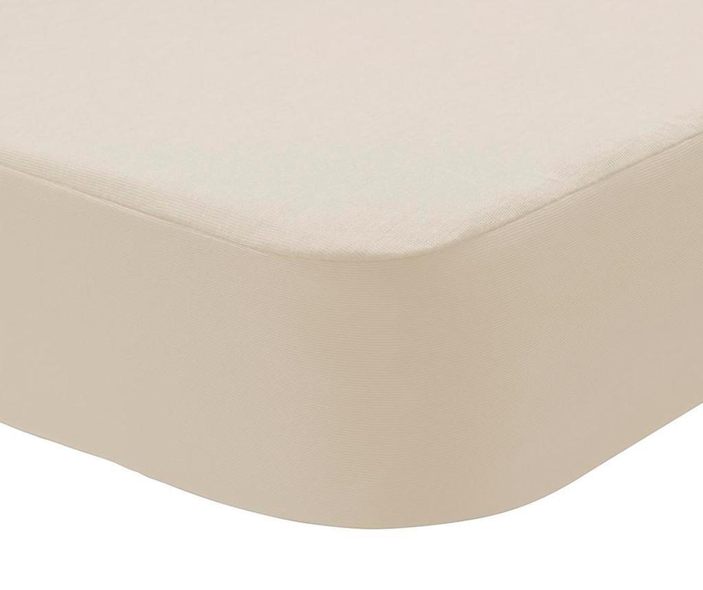 Husa impermeabila pentru saltea Randall 2 in 1 Cream 180x200 cm