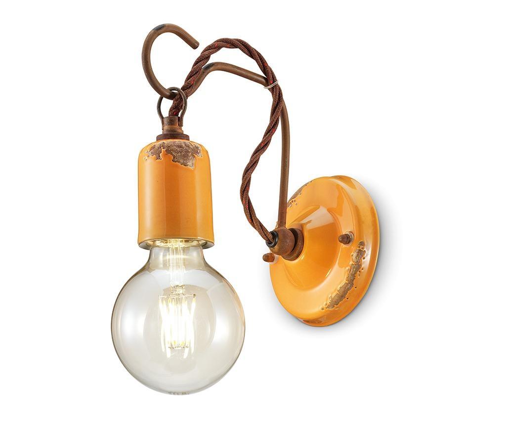 Zidna svjetiljka Vintage Rope Yellow
