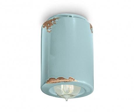Plafoniera Vintage Cylinder Blue