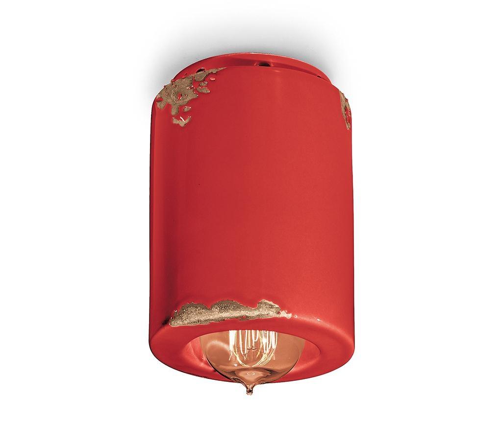Plafoniera Vintage Cylinder Red