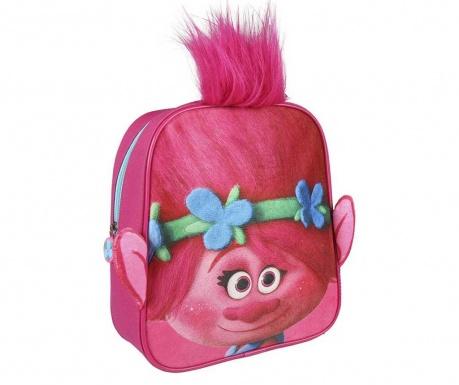ba77fb393c Γρηγορη Παραδοση Σχολική τσάντα Pretty Hair Trolls Pink