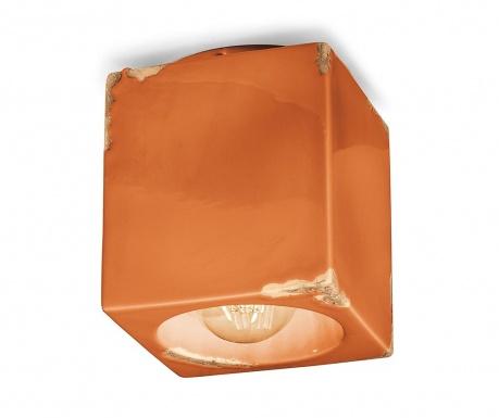 Plafoniera Vintage Cubo Orange