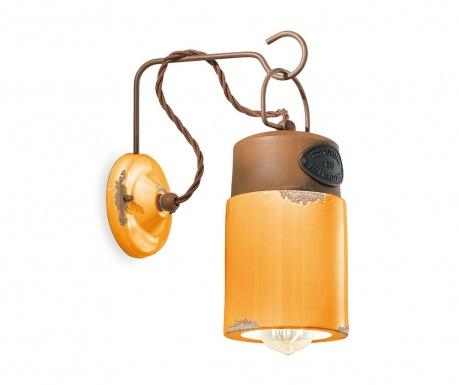Nástěnné svítidlo Industrial Lantern Yellow