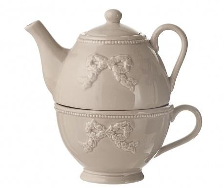 Set čajnik sa šalicom Onne Cream
