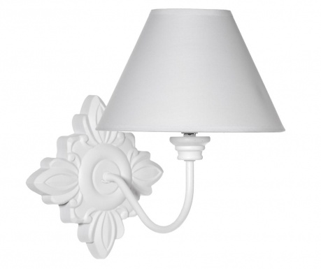 Lampa ścienna Queen White