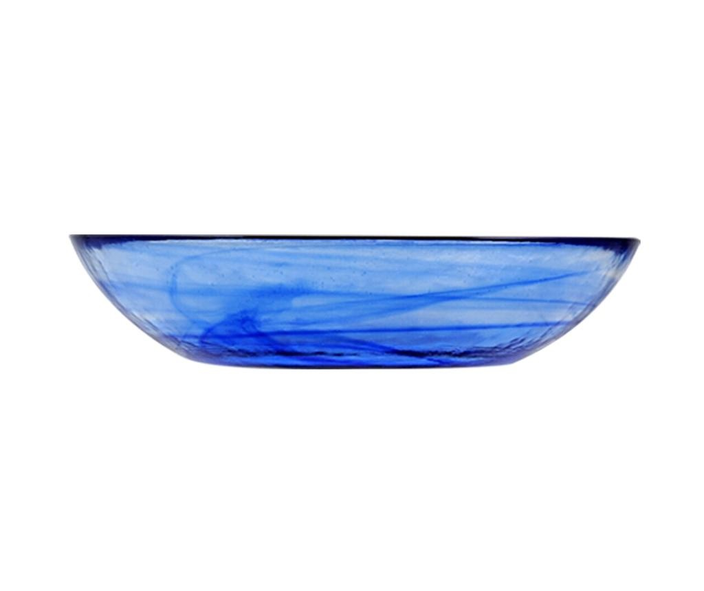 Set 6 farfurii adanci Alabastro Blue