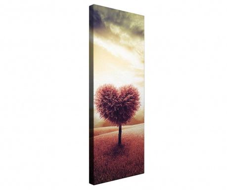 Obraz Heart 30x80 cm