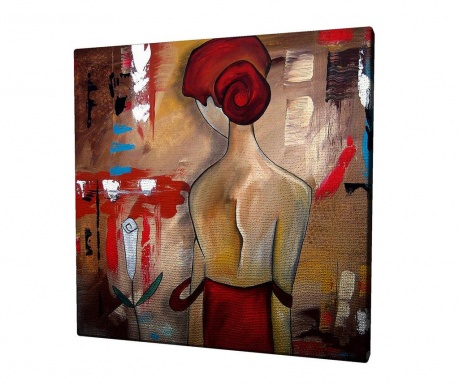 Obraz Spanish Girl 45x45 cm