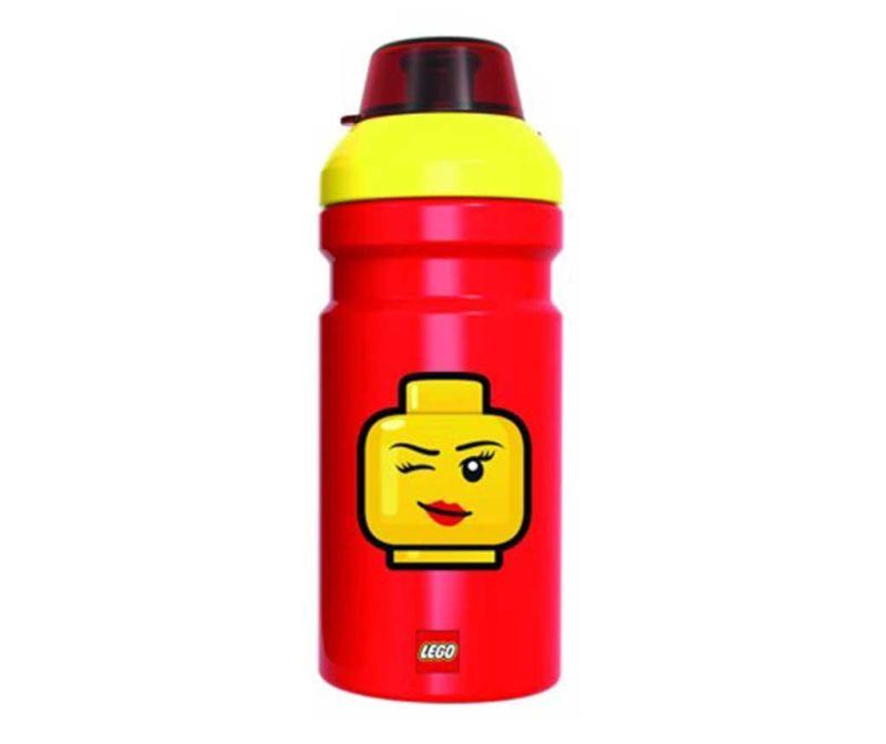 Sticla sport Iconic Girl Red Lego 390 ml