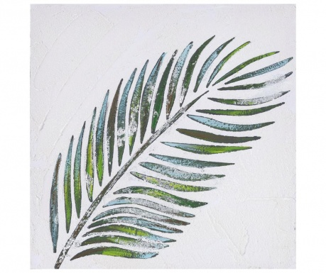 Tropical Leaf Festmény 30x30 cm
