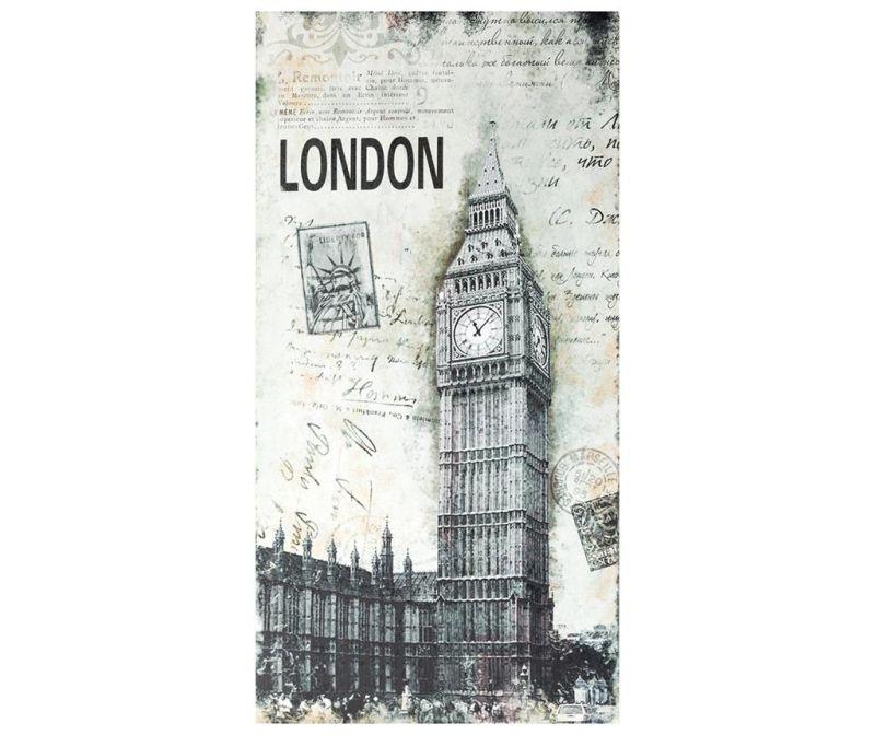 Tablou Vintage London 50x100 cm
