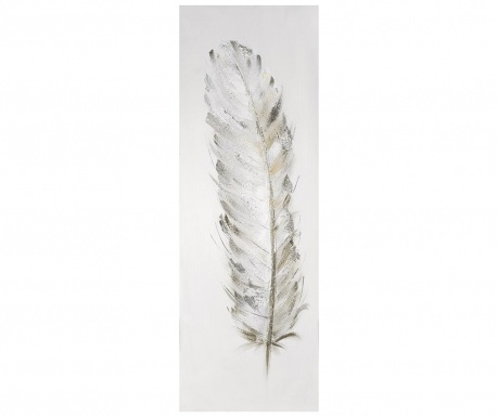 Feather Aleris Festmény 30x90 cm
