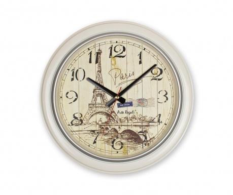 Nástěnné hodiny Paris White
