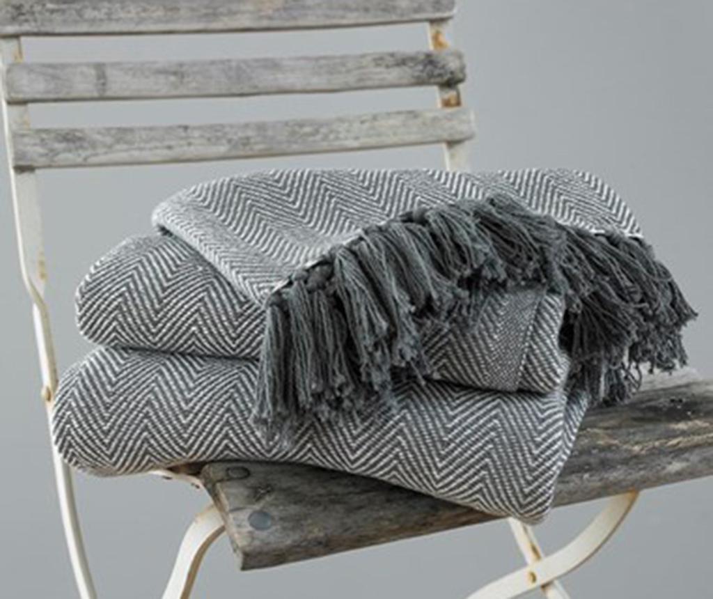 Pokrivač Como Grey 170x200 cm