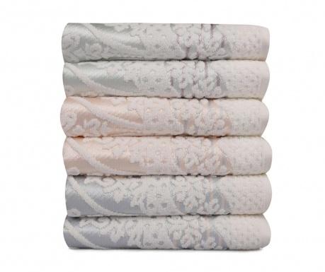 Set 6 kupaonskih ručnika Blanco 50x90 cm