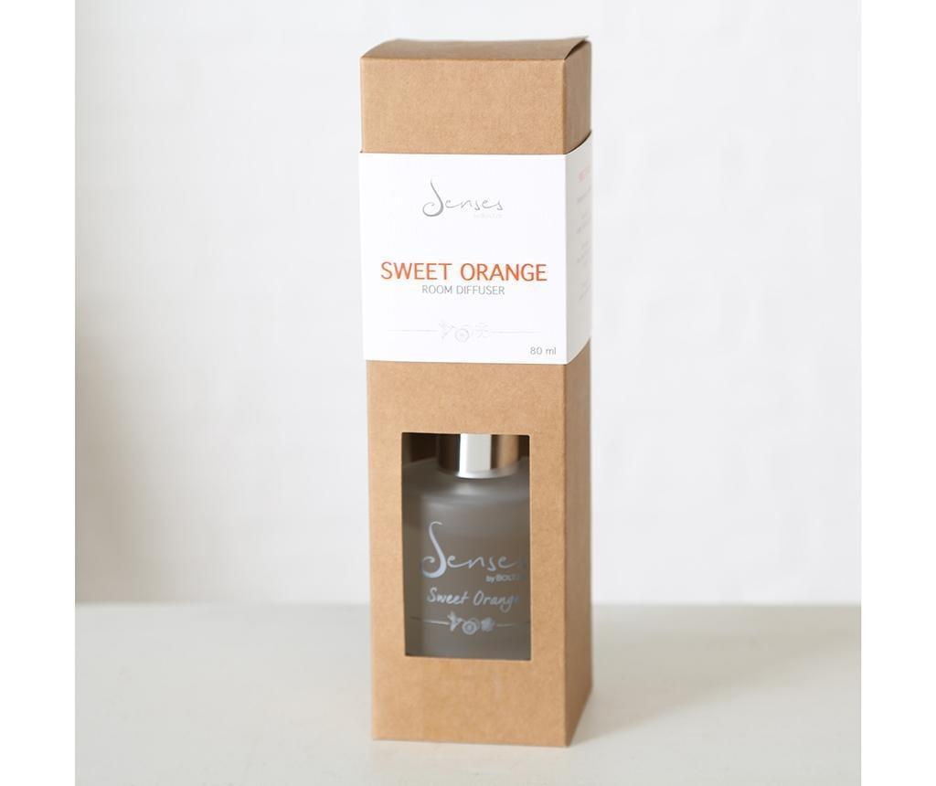 Cubo Sweet Orange Szobaillatosító illóolajjal és pálcikákkal 80 ml