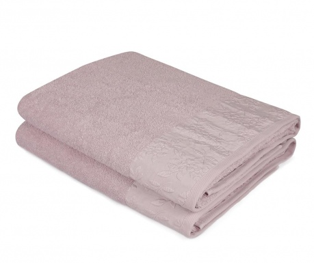 Set 2 kupaonska ručnika Pamela Lilac 90x150 cm