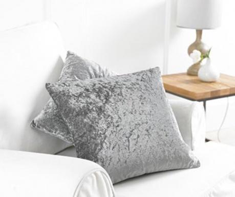 Set 2 jastučnice Bliss Grey 43x43 cm