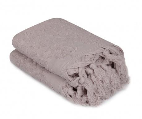 Комплект 2 кърпи за баня Baglamali Kilim Lilac 50x90 см