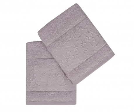 Комплект 2 кърпи за баня Lucca Lilac 50x90 см