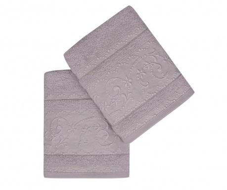 Set 2 kupaonska ručnika Lucca Lilac 50x90 cm
