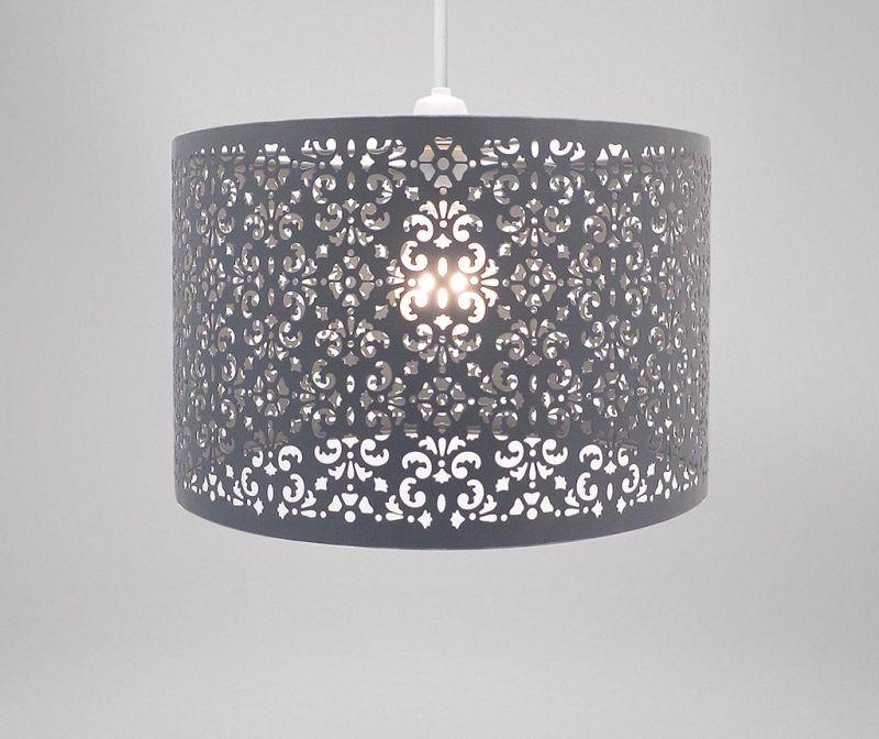 Senčilo za svetilko Marrakech Dark Grey