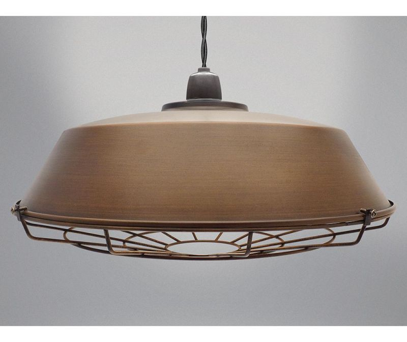 Senčilo za svetilko Vox Brown Copper