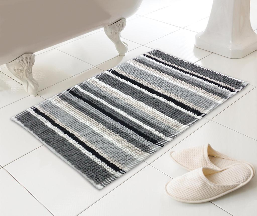 Kupaonski tepih Stripe Grey 50x80 cm