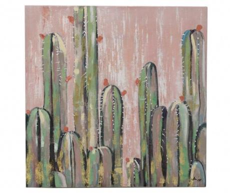 Tablou Cactus City 80x80 cm
